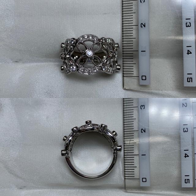 ジュエルスタジオ pt900 ダイヤモンド リング レディースのアクセサリー(リング(指輪))の商品写真