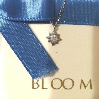BLOOM - 値下げ…BLOOM K10ダイヤモンドネックレス プチネックレス