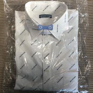 バレンシアガ(Balenciaga)の【値下げ可】BALENCIAGA バレンシアガ ロゴ 長袖 シャツ(シャツ)