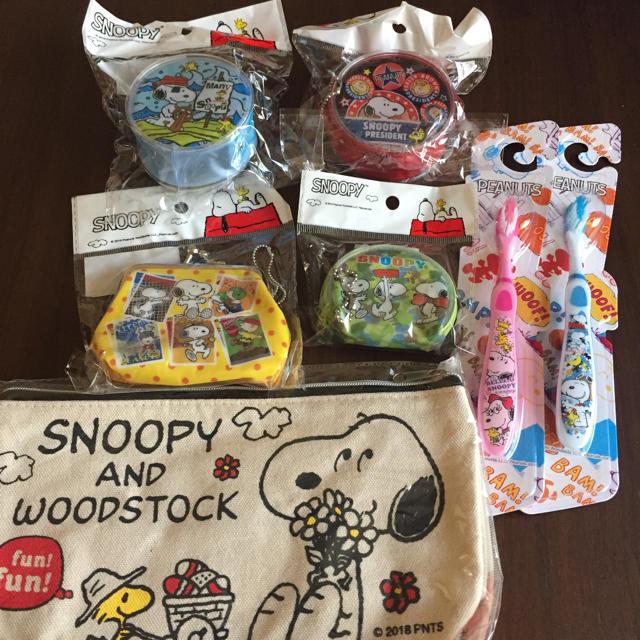 SNOOPY(スヌーピー)のスヌーピー雑貨セット エンタメ/ホビーのおもちゃ/ぬいぐるみ(キャラクターグッズ)の商品写真