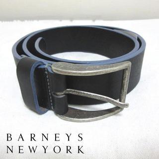 バーニーズニューヨーク(BARNEYS NEW YORK)の新品 Barneys NewYork バーニーズニューヨーク レザーベルト 30(ベルト)