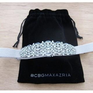 ビーシービージーマックスアズリア(BCBGMAXAZRIA)のBCBGMAXAZRIA ビジューつきベルト(ベルト)