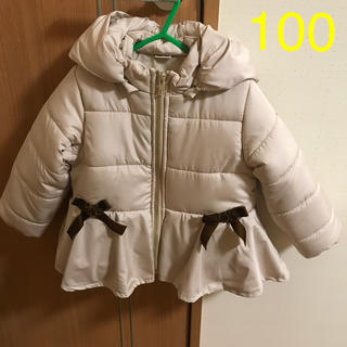 プティマイン(petit main)のプティマイン☆ペプラムコート 100cm(コート)