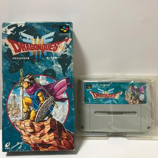 スーパーファミコン - スーパーファミコン スーファミ ドラゴンクエストⅢ ドラクエ3