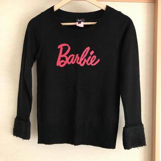 Barbie - バービー Barbie セーター 黒 160