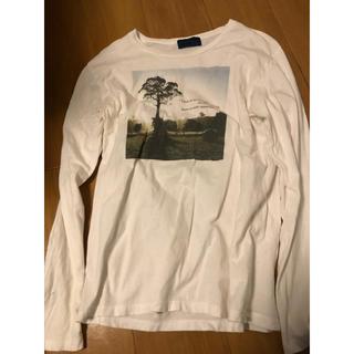 レイジブルー(RAGEBLUE)のRAGEBLUE レイジブルー Tシャツ 長袖 ロング 白 M カットソー(Tシャツ/カットソー(七分/長袖))