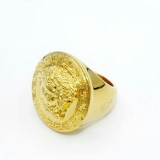VERSACE - ヴェルサーチ Versace 指輪 リング ロゴ
