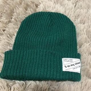 ウィゴー(WEGO)のニット帽 (ニット帽/ビーニー)