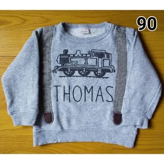 プティマイン(petit main)のトレーナー(トーマス、サスペンダー) 90(Tシャツ/カットソー)