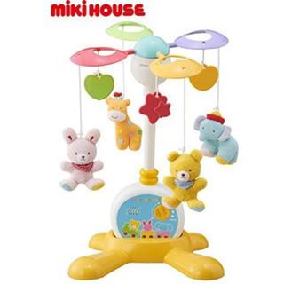 ミキハウス(mikihouse)のミキハウスベビー2WAY仕様のファーストメリー(オルゴールメリー/モービル)