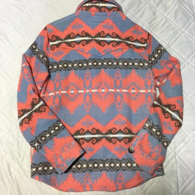 Indian(インディアン)のIndian CPOシャツ ネイティブ柄 M メンズのトップス(シャツ)の商品写真