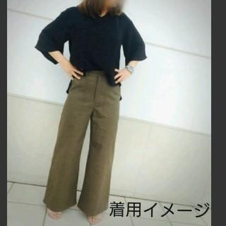 【GU】ジーユー ベイカーワイドパンツ Lサイズ