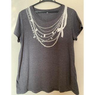Tシャツ グレー LL(Tシャツ(半袖/袖なし))