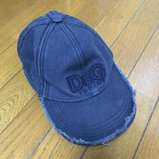 ドルチェアンドガッバーナ(DOLCE&GABBANA)のD &Gキッズキャップ(帽子)