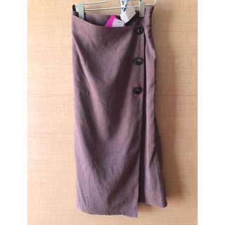 しまむら - 2PINK  ツイルラップスカート