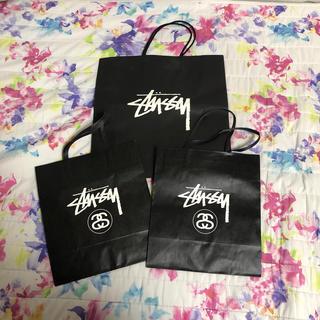 ステューシー(STUSSY)のステューシー 紙袋(ショップ袋)