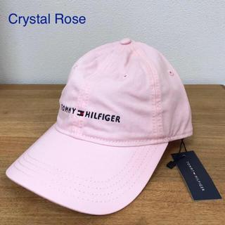 トミーヒルフィガー(TOMMY HILFIGER)の◎新品 トミーヒルフィガー 帽子 キャップ 野球帽 ピンク クリスタルローズ(キャップ)