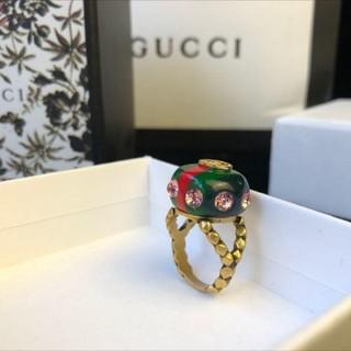 グッチ(Gucci)のGUCCI   リング    お値下げ(リング(指輪))
