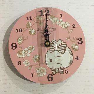 ハローキティ(ハローキティ)のハローキティ 時計(掛時計/柱時計)