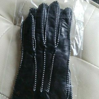 H.P.FRANCE - 🌼新品定価2.2万-1.65万引!アッシュぺーフランス ラムレザー本革 手袋