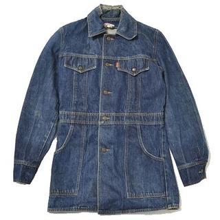 リーバイス(Levi's)の◇LEVI'S◇sizeS denim jacket blue(ひざ丈ワンピース)