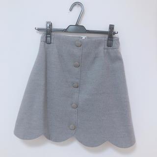 ROJITA - 裾スカラップスカート♡