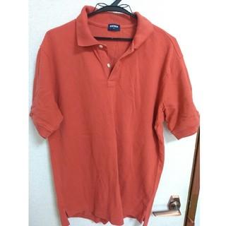 ユニクロ(UNIQLO)のUNIQLO ポロシャツ オレンジ(ポロシャツ)