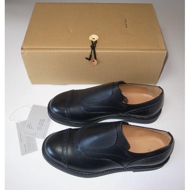 Hender Scheme(エンダースキーマ)のHender Scheme ■ mutation2 black size5 メンズの靴/シューズ(ドレス/ビジネス)の商品写真