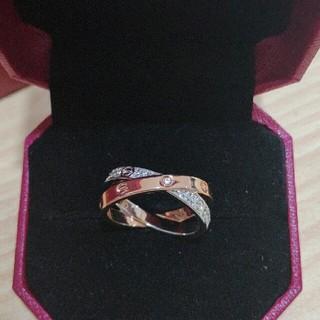 カルティエ(Cartier)の12号 Cartier カルティエ 個性リング 綺麗(リング(指輪))