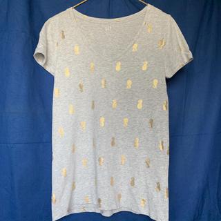 ギャップ(GAP)のGAP パイナップル柄Tシャツ(Tシャツ(半袖/袖なし))