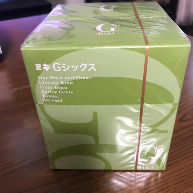 ミキ Gシックス   ミキ商事 食品/飲料/酒の健康食品(その他)の商品写真