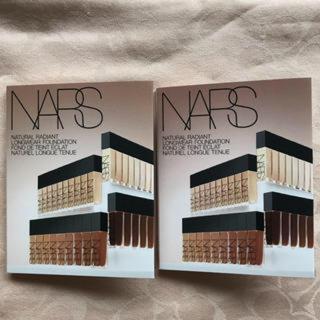 ナーズ(NARS)のNARS ナーズ ナチュラルラディアント ロングウェアファンデーション サンプル(ファンデーション)