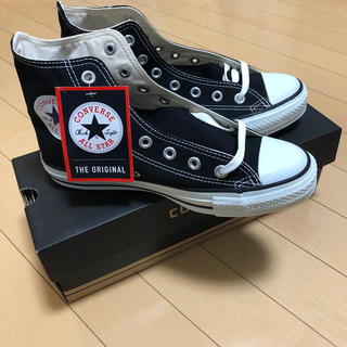 CONVERSE - 新品未使用 converse  ALL STAR HI  24.5cm  黒