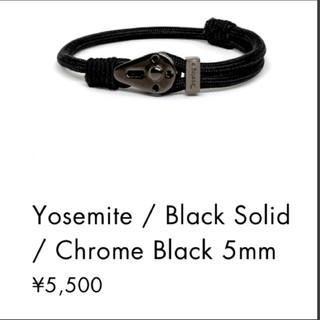 ザノースフェイス(THE NORTH FACE)のtopologie Yosemite / Black Solid(ブレスレット)
