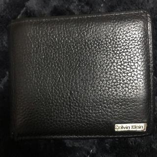 カルバンクライン(Calvin Klein)のCalvin Klein カルバン・クライン 二つ折り財布(折り財布)