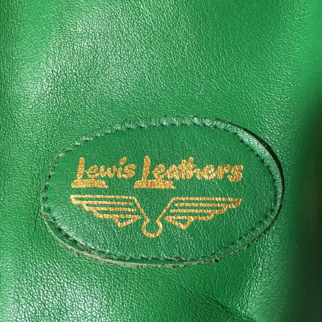 Lewis Leathers(ルイスレザー)の最終価格 ルイスレザー  ファントム ライダースジャケット グリーン  メンズのジャケット/アウター(ライダースジャケット)の商品写真
