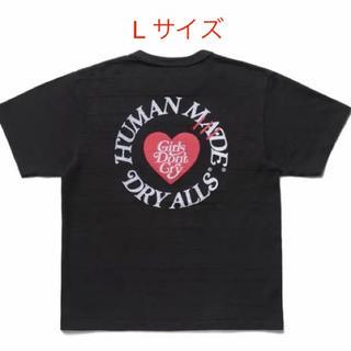 GDC - Human made ガールズドントクライ コラボ Tシャツ Lサイズ
