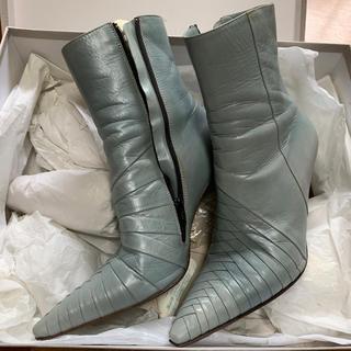 ファビオルスコーニ(FABIO RUSCONI)のショートブーツ(ブーツ)