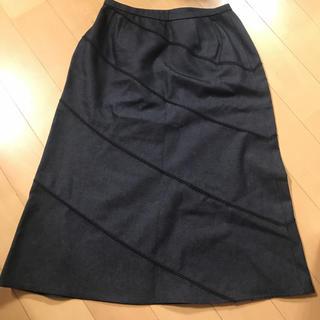 レリアン(leilian)のレリアン スカート 新品(ひざ丈スカート)