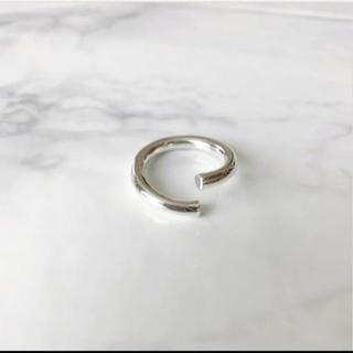ザラ(ZARA)のインポートシルバーデザインリング 13 14号あたり(リング(指輪))