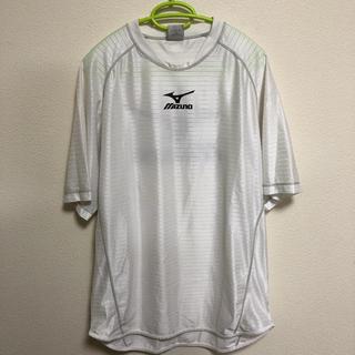 ミズノ(MIZUNO)のミズノ サッカーウェア(白) サイズ:O(ウェア)