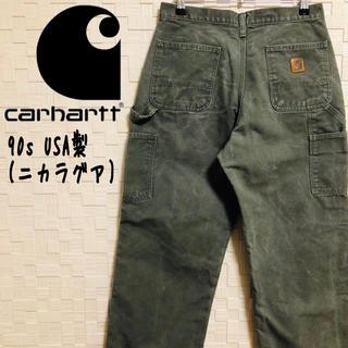 carhartt - 【USA製】超希少 90s カーハート ペインターパンツ カーキ アースカラー♡