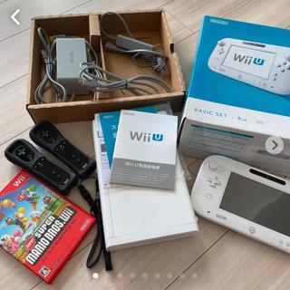 Wii U - wiiUベーシックセット+newスーパーマリオBr他