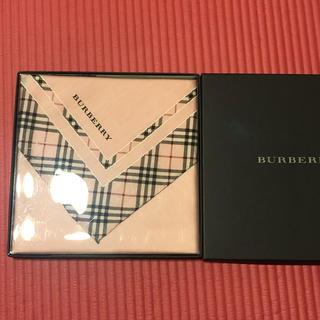 BURBERRY - 【新品】バーバリー  ハンカチ スカーフ