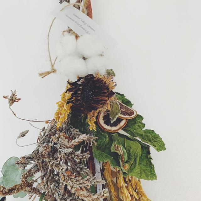 ワイルドシャビースワッグ II ハンドメイドのフラワー/ガーデン(ドライフラワー)の商品写真
