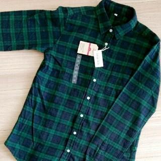 イオン(AEON)のトップバリューコレクション 新品 ネルシャツ(シャツ/ブラウス(長袖/七分))