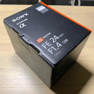 ソニー(SONY)の専用【ほぼ新品】FE 24mm F1.4 GM SEL24F14GM (レンズ(単焦点))