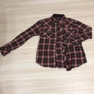 コムサイズム(COMME CA ISM)のコムサイズム チェック シャツ メンズ(Tシャツ/カットソー(七分/長袖))