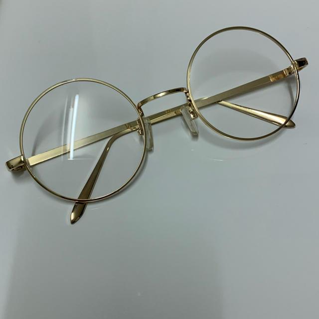 Zoff(ゾフ)の【専用】丸眼鏡 伊達眼鏡 レディースのファッション小物(サングラス/メガネ)の商品写真