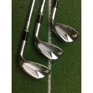 クリーブランドゴルフ(Cleveland Golf)のクリーブランドRTX F-FORGEDウエッジ NSPRO850GH 3本セット(クラブ)